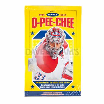 2016/17 Upper Deck O-Pee-Chee Hockey Hobby Box