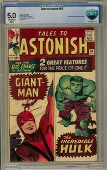 Tales to Astonish #60 CBCS 5.0 (OW-W) *16-204F027-041*