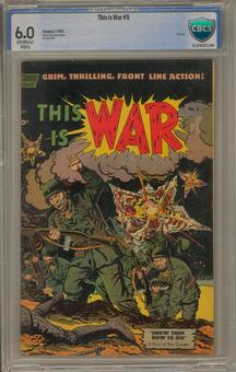 This Is War #5 CBCS 6.0 (OW-W) *16-204F027-048*