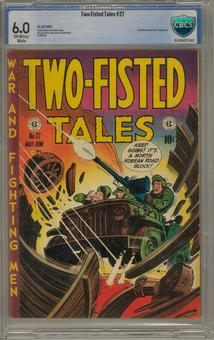 Two-Fisted Tales #27 CBCS 6.0 (OW-W) *16-204F027-062*
