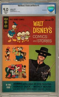 Walt Disney's Comics and Stories #275 CBCS 9.0 (OW-W) *16-204F027-071*