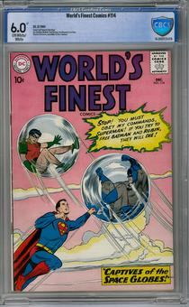 World's Finest #114 CBCS 6.0 (OW-W) *16-20EEFC5-076*