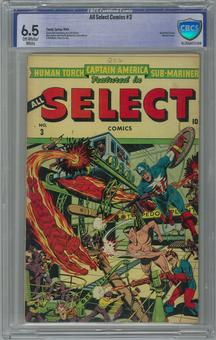 All Select Comics #3 CBCS 6.5 (OW-W) *16-2BAA072-008*