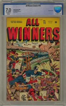All Winners Comics #15 CBCS 7.0 (OW-W) *16-2BAA072-017*