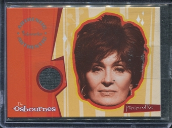 2002 InkWorks The Osbournes Season One Pieceworks #PW2 Sharon Osbourne