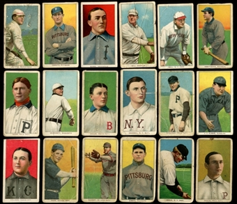 1909-11 T206 Starter Set (66 Different) (Piedmont - Sweet Caporal)