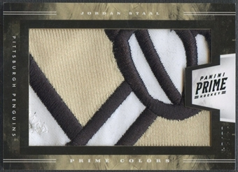 2011/12 Panini Prime #75 Jordan Staal Colors Horizontal Patch #11/14