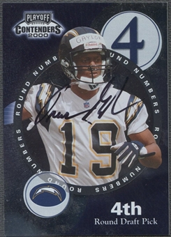 2000 Playoff Contenders #13 Trevor Gaylor & Avion Black Round Numbers Auto