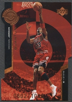 1998/99 Upper Deck #PS30 Michael Jordan Super Powers Bronze #0602/1000