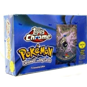 Pokemon Series 2 Trading Card Box (Topps Chrome)