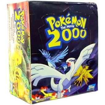 Pokemon The Movie 2000 Trading Card Box (2000 Topps)