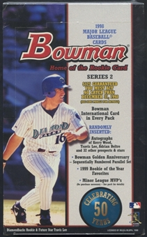 1998 Bowman Series 2 Baseball Retail Box