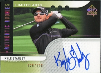 2012 Upper Deck SP Authentic Limited Rookie Autographs #95 Kyle Stanley /100