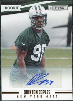 2012 Panini Rookies and Stars Autographs #201 Quinton Coples /999