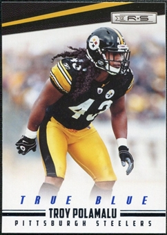 2012 Panini Rookies and Stars True Blue #116 Troy Polamalu