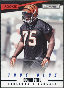 2012 Panini Rookies and Stars True Blue #169 Devon Still