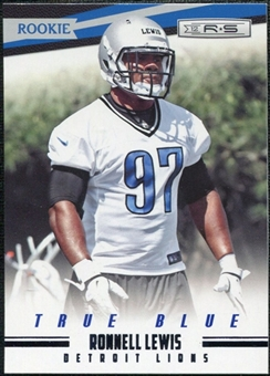 2012 Panini Rookies and Stars True Blue #204 Ronnell Lewis