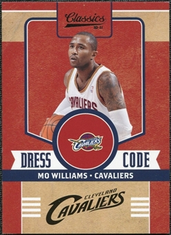 2010/11 Panini Classics Dress Code Silver #4 Mo Williams /250
