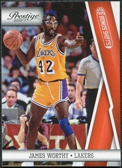 2010/11 Panini Prestige Bonus Shots Orange #131 James Worthy /499