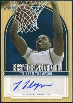 2011/12 Leaf Best of Basketball Autographs #TT1 Tristan Thompson