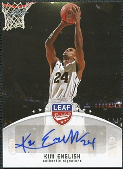 2012/13 Leaf Autographs #KE1 Kim English
