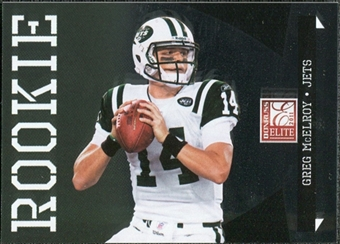 2011 Panini Donruss Elite #143 Greg McElroy /999