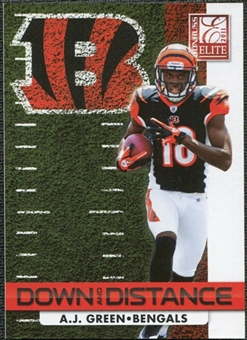 2011 Panini Donruss Elite Down and Distance Black Friday #53 A.J. Green