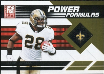 2011 Panini Donruss Elite Power Formulas Gold #26 Mark Ingram BF