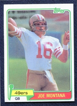 1981 Topps Football Partial Set (NM-MT)