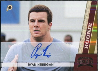 2011 Panini Threads Autographs Silver #236 Ryan Kerrigan 82/299