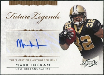 2011 Topps Legends Future Legends Autographs #FLAMI Mark Ingram