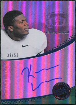 2012 Press Pass Power Pick Autographs Blue #KW Kendall Wright 39/50