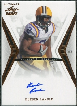 2012 Leaf Ultimate Draft #RR1 Rueben Randle Autograph