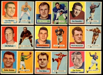 1957 Topps Football Lot of 42 Cards (31 Different) VG