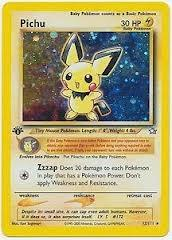 Pokemon Neo Genesis 1st Edition Single Pichu 12/111 - NEAR MINT (NM)
