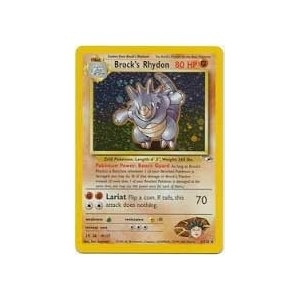 Pokemon Gym Heroes Single Brock's Rhydon 2/132