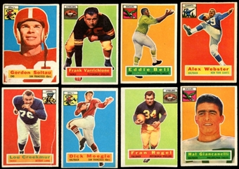 1956 Topps Football Starter Set (52 Cards) VG
