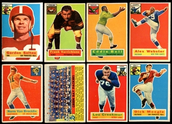 1956 Topps Football Starter Set (79 Cards) VG