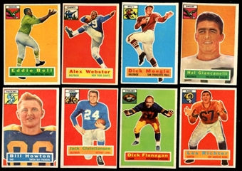 1956 Topps Football Starter Set (30 Cards) EX-MT