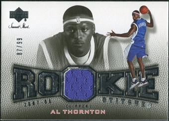 2007/08 Upper Deck Sweet Shot Rookie Stitches #AT Al Thornton /99