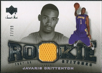 2007/08 Upper Deck Sweet Shot Rookie Stitches #JC Javaris Crittenton /99