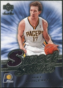 2007/08 Upper Deck Sweet Shot Sweet Stitches #DU Mike Dunleavy