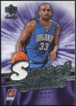 2007/08 Upper Deck Sweet Shot Sweet Stitches #GH Grant Hill