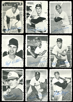 1969 Topps Deckle Edge Baseball Near Complete Set