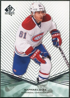 2011/12 Upper Deck SP Authentic Rookie Extended #R43 Raphael Diaz