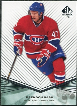 2011/12 Upper Deck SP Authentic Rookie Extended #R44 Brendon Nash