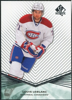 2011/12 Upper Deck SP Authentic Rookie Extended #R48 Louis Leblanc