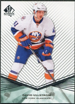 2011/12 Upper Deck SP Authentic Rookie Extended #R62 David Ullstrom
