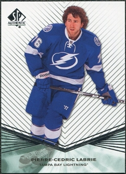 2011/12 Upper Deck SP Authentic Rookie Extended #R86 Pierre-Cedric Labrie