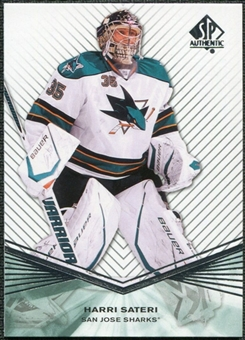 2011/12 Upper Deck SP Authentic Rookie Extended #R85 Harri Sateri